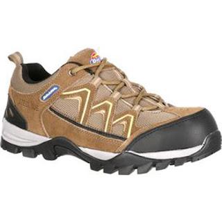 zapatos deportivos de seguridad cafes