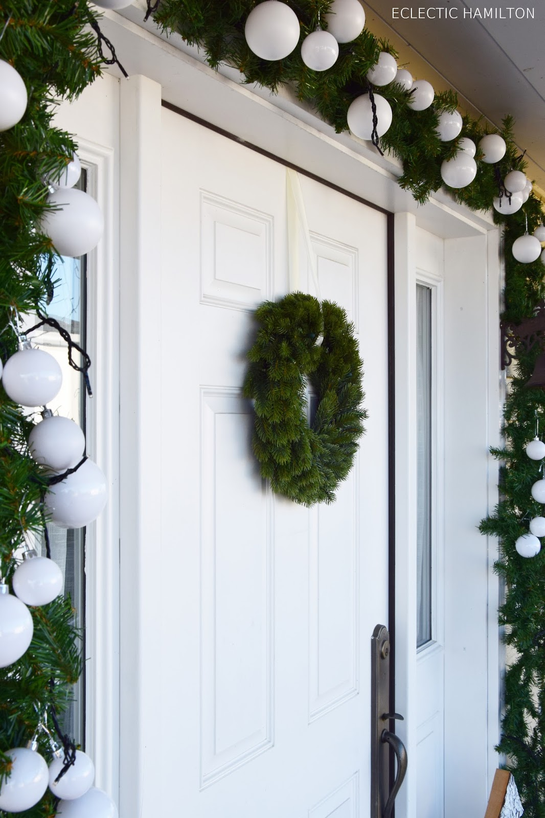 Weihnachtsdeko fur die haustur frohe weihnachten in europa - Dekoration haustur ...