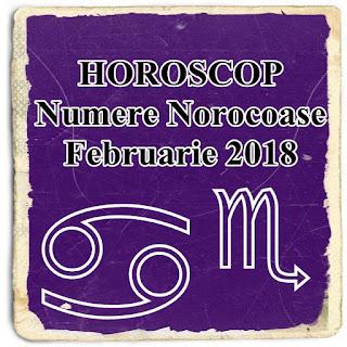 HOROSCOP Numere Norocoase Februarie 2018 RAC PESTI SCORPION