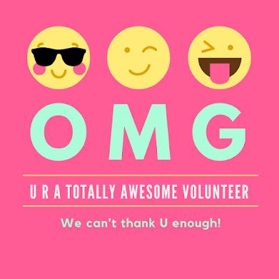 text inspired volunteer appreciation image