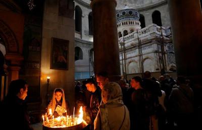 Jesus Tomb In Jerusalem Re-Opens After Nine Months Restoration 4