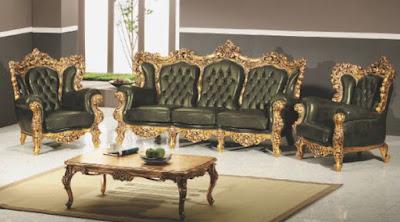 sofa tamu virginia mewah ukiran jepara