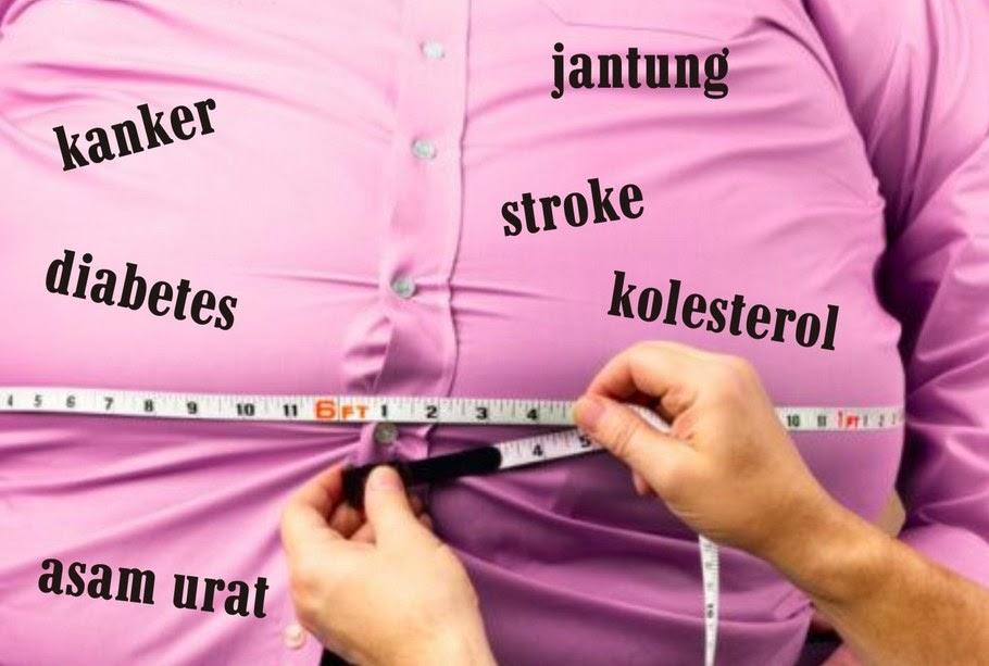 Dengan Pola Makan Sehat dan Bergerak, Yuk Lawan Obesitas
