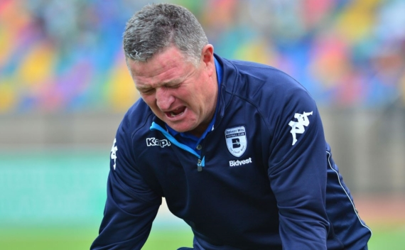Bidvest Wits coach Gavin Hunt has been under immense pressure this season