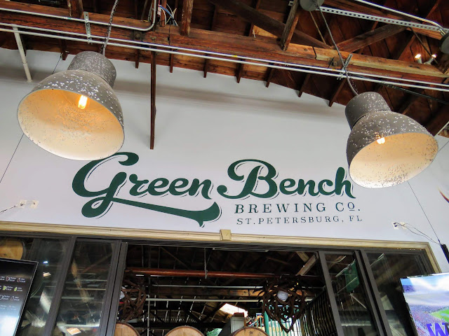 Green Bench Brewing Company in St. Petersburg, Florida