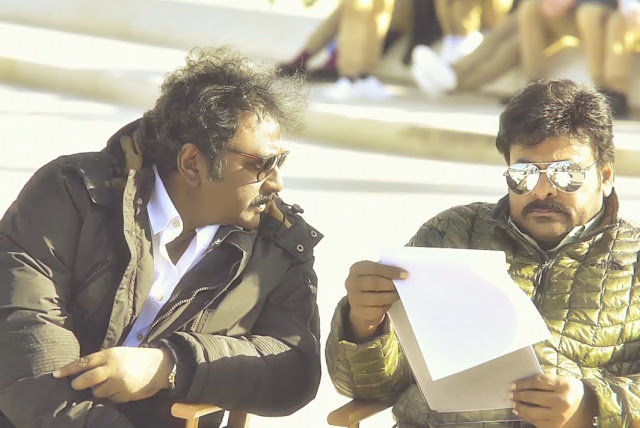 Director v.v.vinayak with Megastar Chiranjeevi