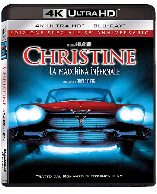 Christine: La Macchina Infernale Home Video