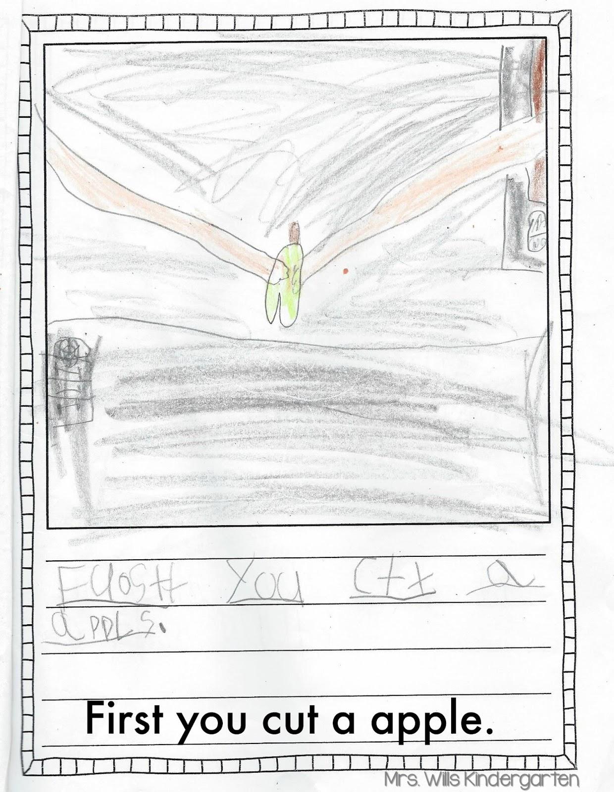 Mrs. Wills Kindergarten: How-To Writing in Kindergarten