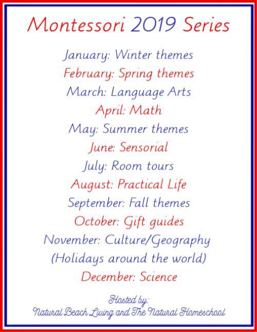 Montessori 2019 Series