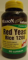 Red Yeast Rice 1200, high cholesterol treatment