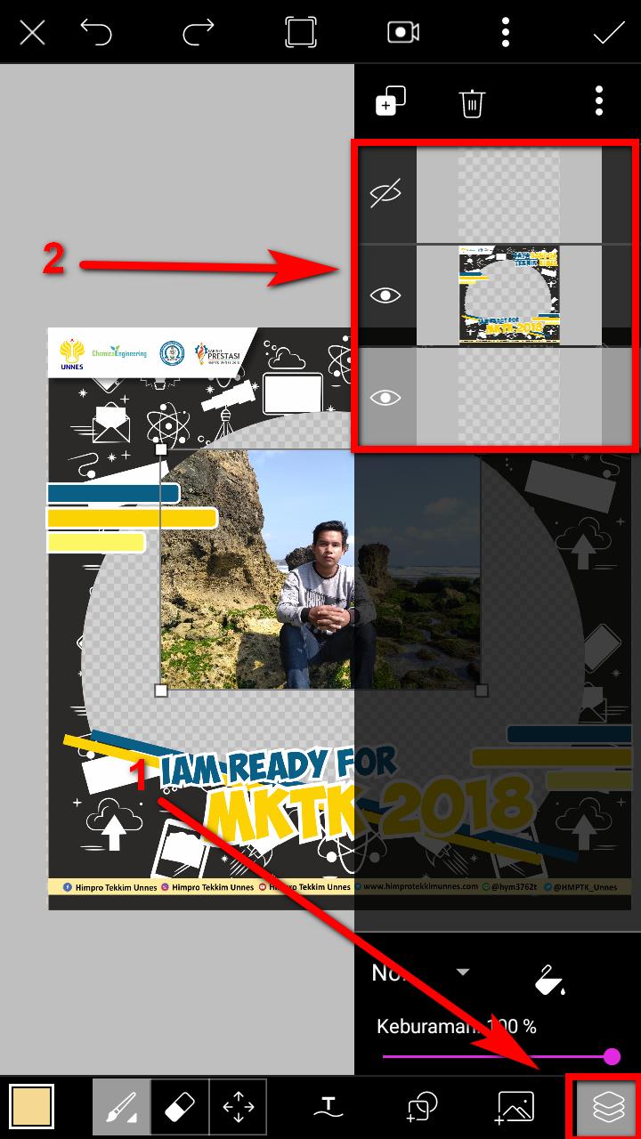 Cara Edit Twibbon Menggunakan Aplikasi Picsart
