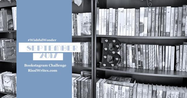 Bookstagram Challenge | September 2017 #WishfulWonder Challenge
