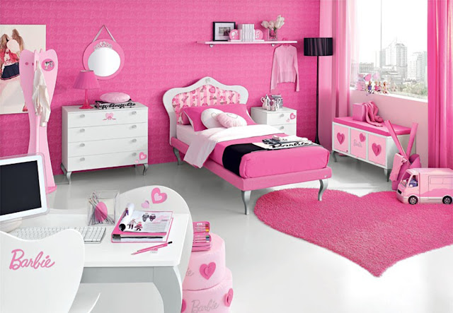 peinture rose pour chambre de fille