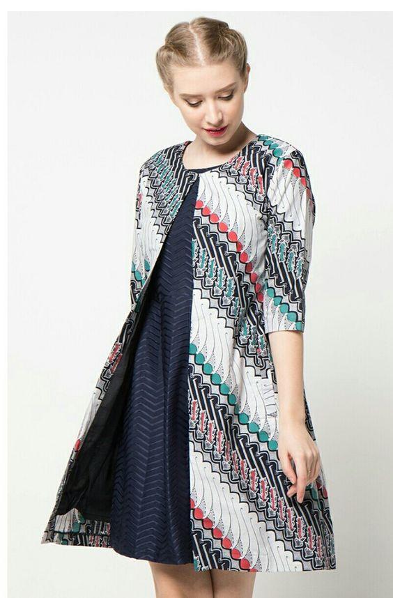 50 Model  Baju  Batik Terbaru 2019 Modern Elegan