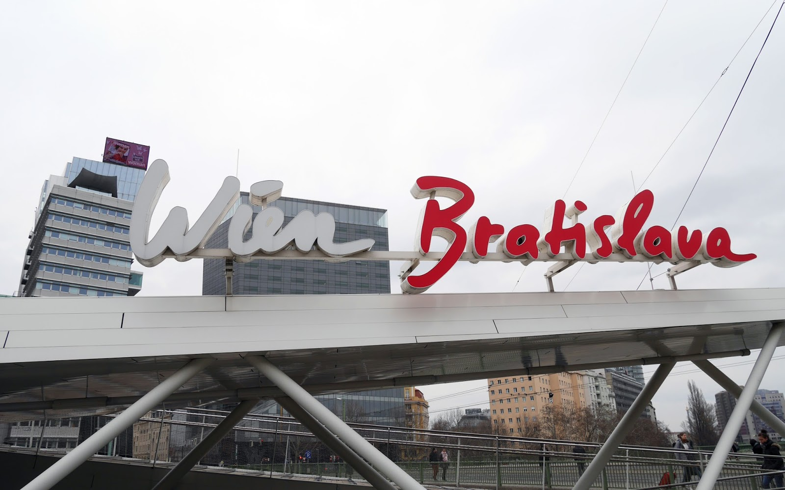 Bratislava and Vienna boat dock. Why you should visit Bratislava and Vienna together.