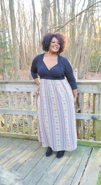 bigbelladonna, sydney's closet, roxanna maxi dress