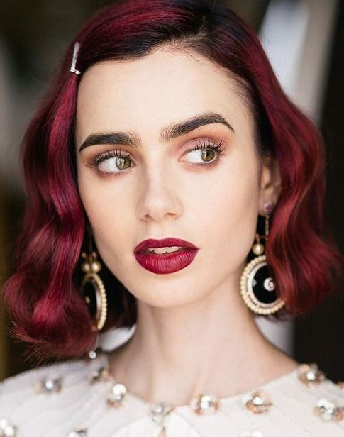 elegant makeup and hairstyle idea to copy this season