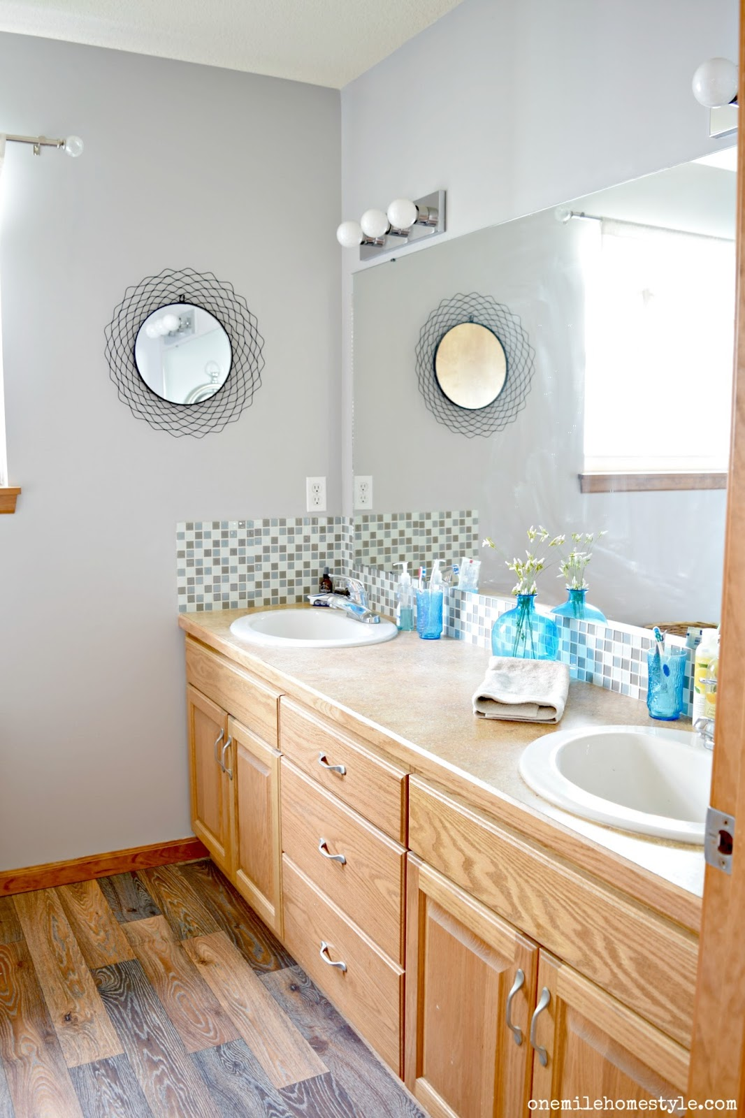 Rustic Modern Master Bathroom Makeover Part 2