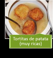 TORTITAS DE PATATA {MUY RICAS}