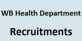 WB Health Recruitment 2017, www.wbhealth.gov.in