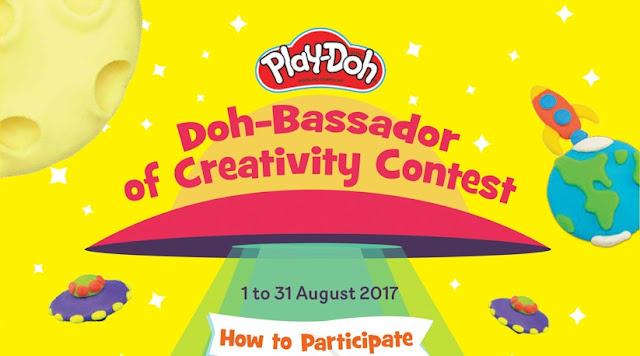 play doh malaysia doh-bassador contest