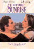 Before Sunrise CD cover