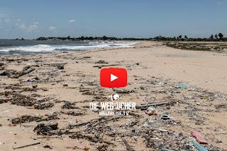 Müllprobleme in Indien und Sri Lanka, WELTREISE.TV Die Wegsucher, Arkadij und Katja aus Bremerhaven berichten