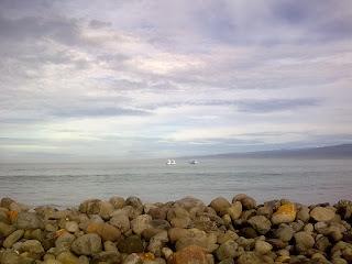 kamera ponsel gambar pantai