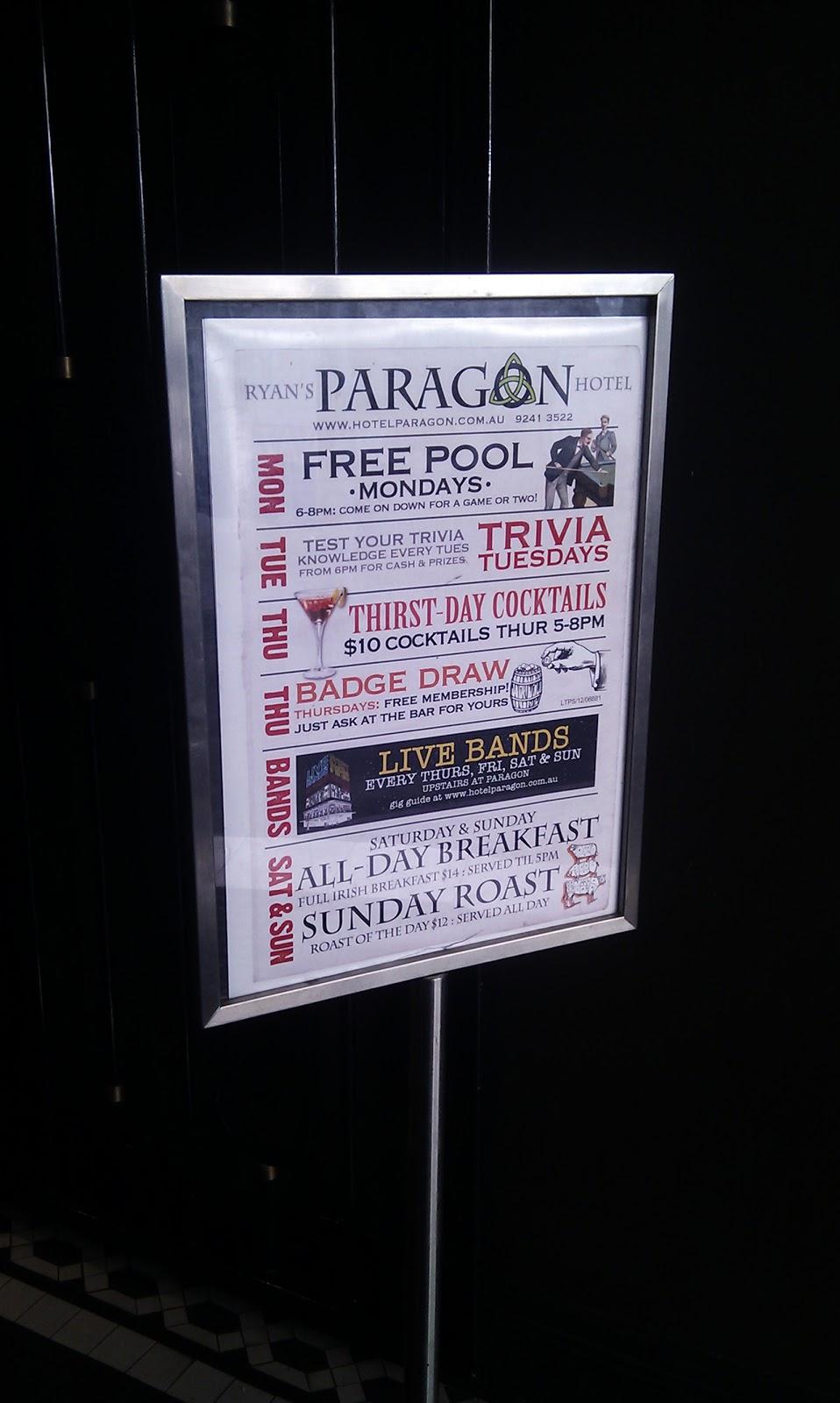 Paragon Casino Ice Bar