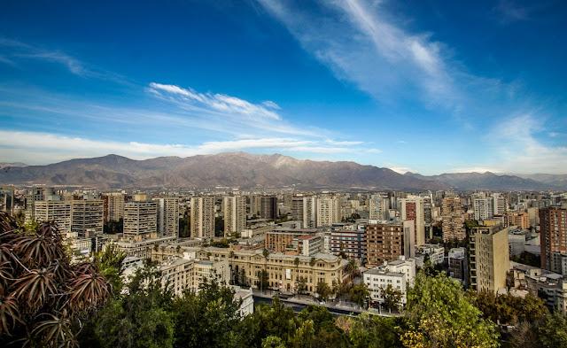 Cerro Santa Lucía em Santiago do Chile