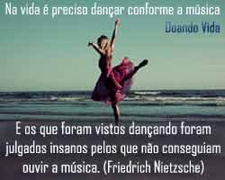 Dançando conforme a música