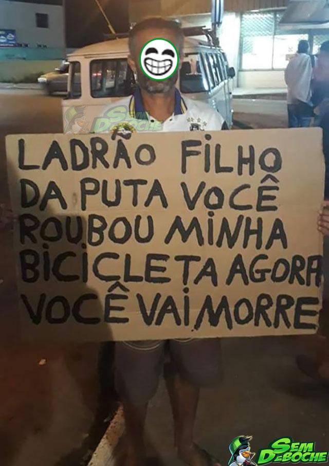 LADRÃO BOM É LADRÃO MORTO