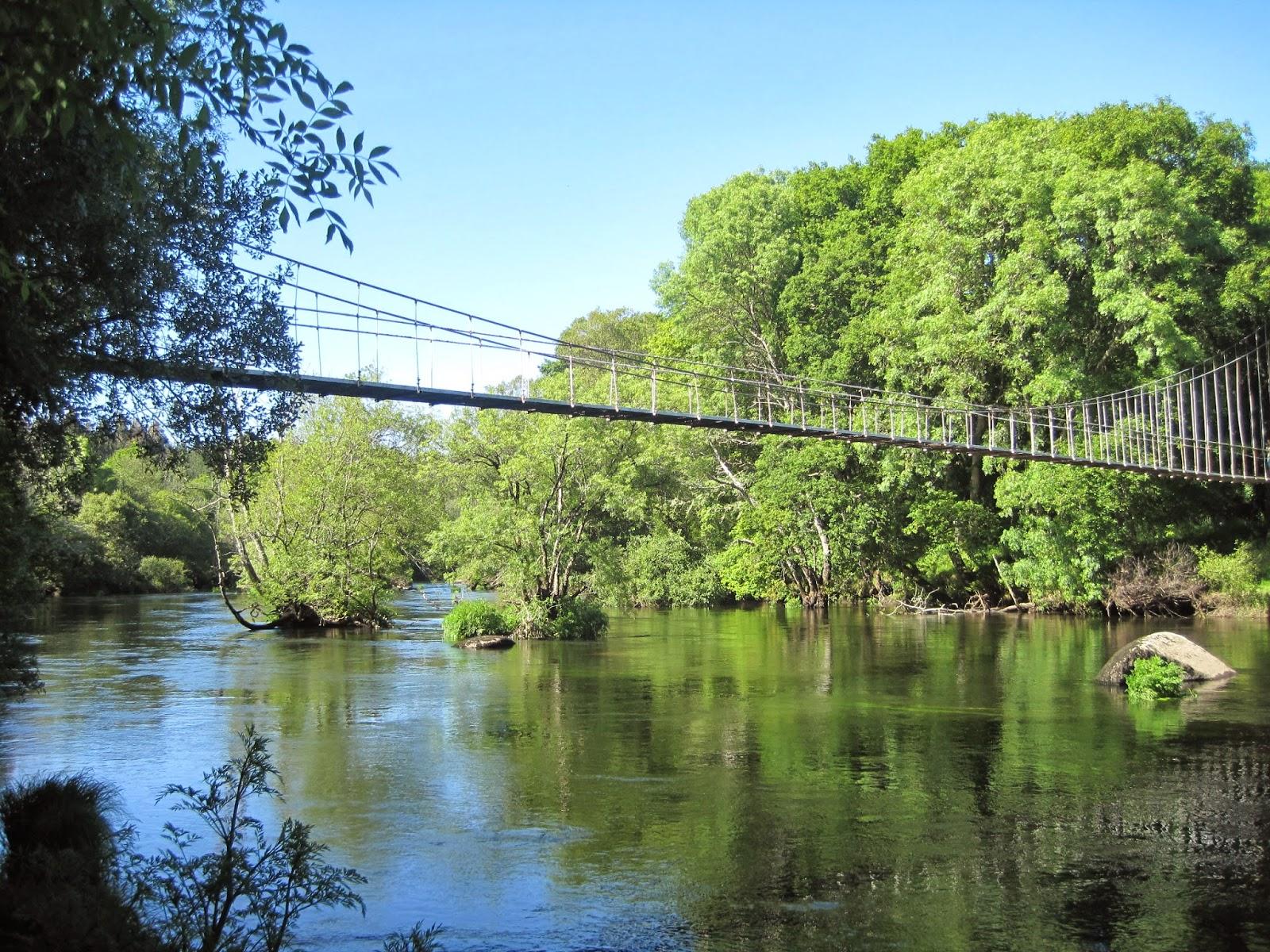Puente Colgante de Parada en Outeiro de Rei