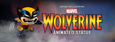 Wolverine Animated Marvel Mini Statue by Skottie Young & Gentle Giant