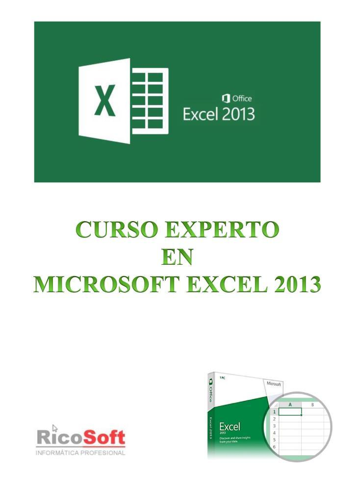 Curso Experto en Microsoft Excel 2013 – Aulaclic