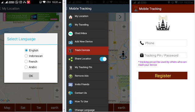 track cell phone location free by number