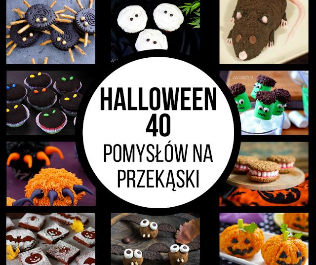 Halloween: 40 pomysłów na przekąski