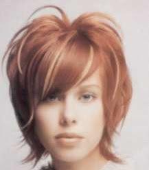 model warna rambut pendek tahun 2001