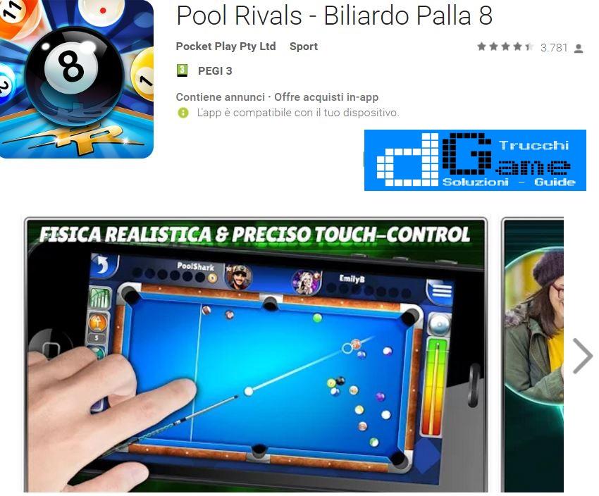 Trucchi Pool Rivals - Biliardo Palla 8 Mod Apk Android v3.3