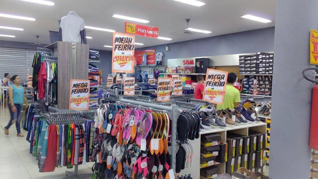 673a2c7e0 EXTRA: Mega feirão de calçados e confecções começa segunda no Paraíba de  Camocim