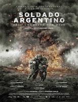 Poster de Soldado Argentino solo conocido por Dios