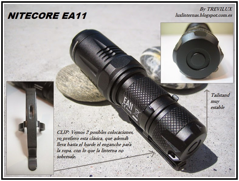Review Nitecore EA11 by Trevilux