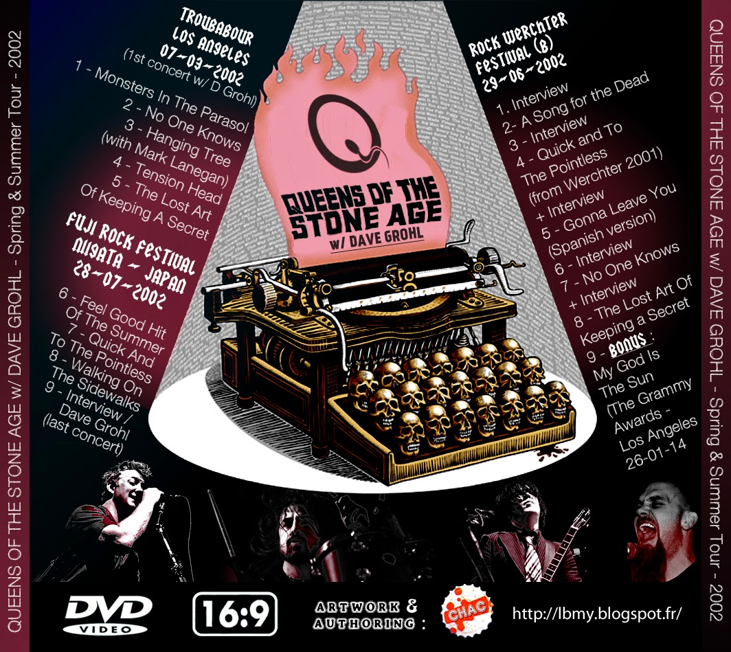 t u b e queens of the stone age w dave grohl 2002 live