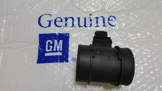 Cảm biến lưu lượng gió xe Captiva máy dầu chính hãng GM