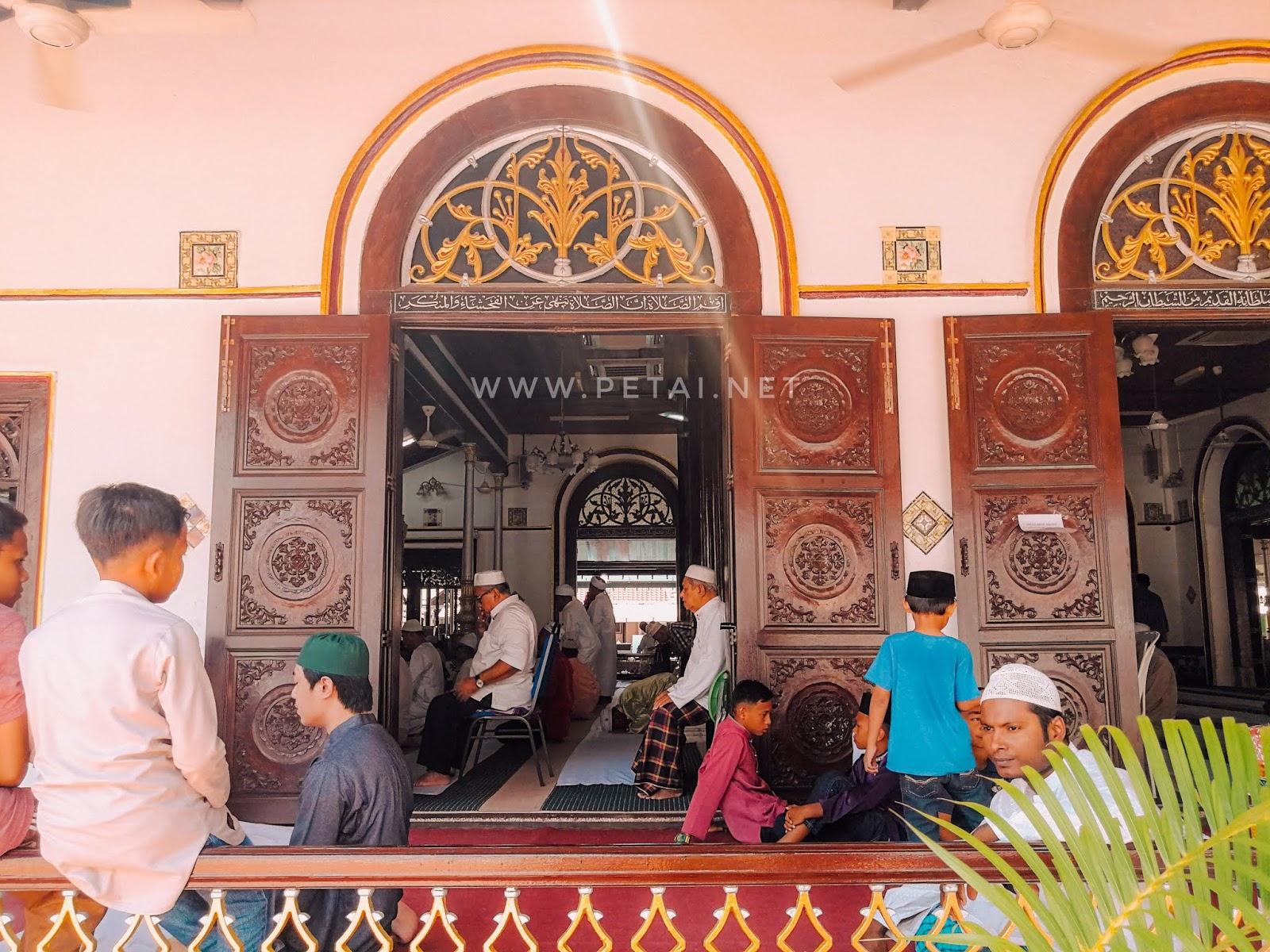Masjid Tengkera, Melaka - solat