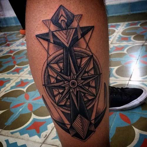 anchor tattoo design art çapa dövmesi
