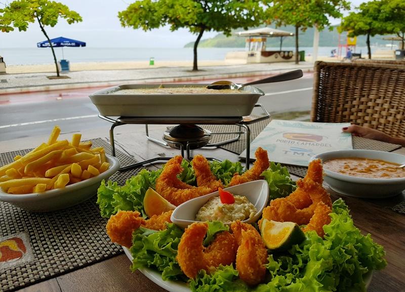 Frutos do mar em Balneário Camboriú