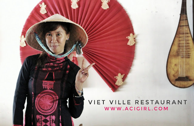 Aci Girl at Viet Ville Restaurant