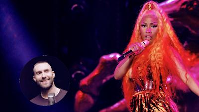 Nicki Minaj recusou convite para cantar com Maroon 5 no Super Bowl 2019.
