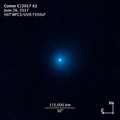 Image of Comet C/2017 K2